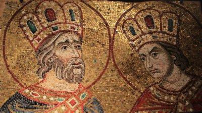 Original golden mosaics