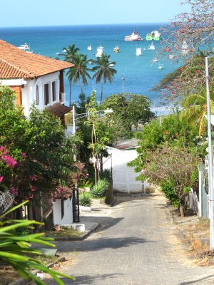 The streets of San Juan del Sur