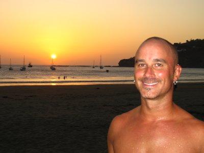 Andrew in San Juan del Sur