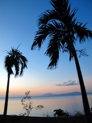 After the sunset in Ometepe