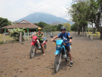 Ana and Jacob in Ometepe