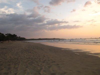 Long beach in Tamarindo