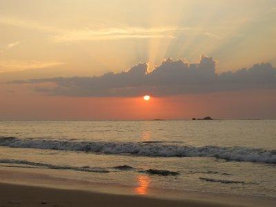 Sunsetting over Tamarindo