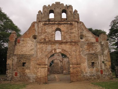 The first church in Costa Rica