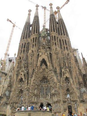 Sagrada Familia -front