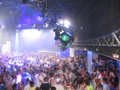 A packed house at Space, all waiting for the legendary Carl Cox