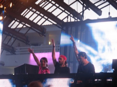 Three cheers for Axwell, Steve Angelo, Sebastion Ingrosso! (from Left to Right)