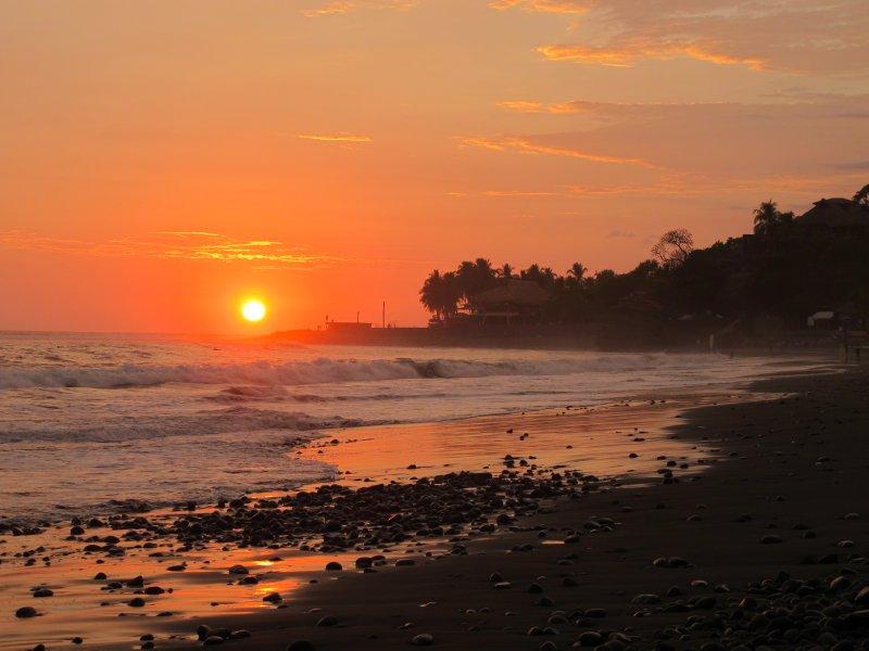 Sunset at El Tunco