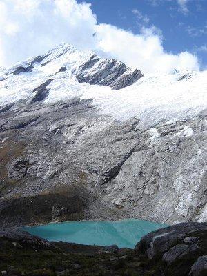 Glacier lake - Cordillera Blanca