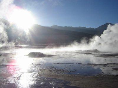 Geisers - Atacama desert