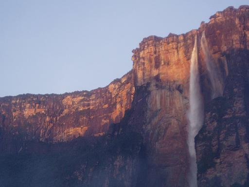 Sunrise at Angel Falls