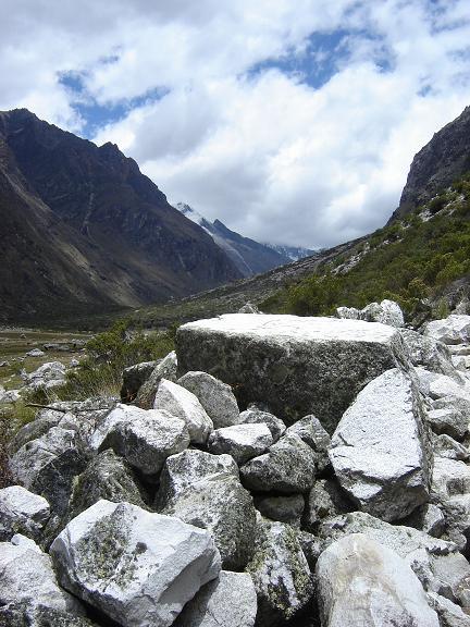 White rock- Cordillera Blanca