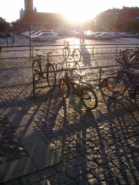 Bikes in Lund