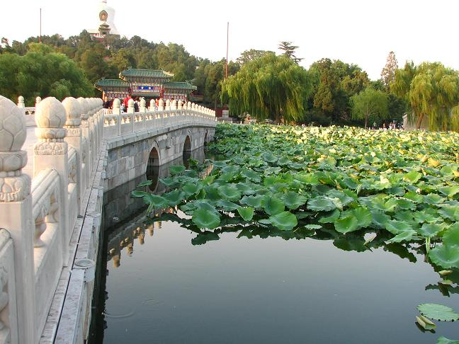 Lakeside temple - Beijing