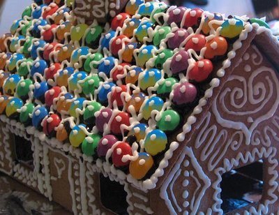 Gingerbread house - Christmas preparations