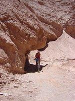 Mountainbiking Quebrada del Diablo - Atacama desert