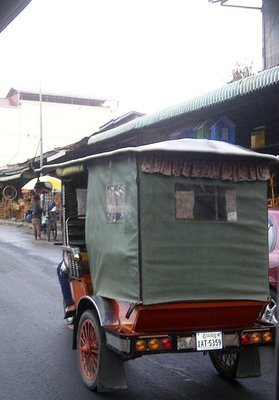 "Amazing tuk tuk rides. Sudden left turns and ""no-look turns"" make the rides hair-raising. A thriller actually."