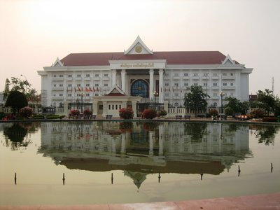 The Lao Prime Minister&#39;s Office in Vientiane