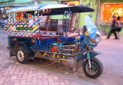 The reliable Lao tuktuk