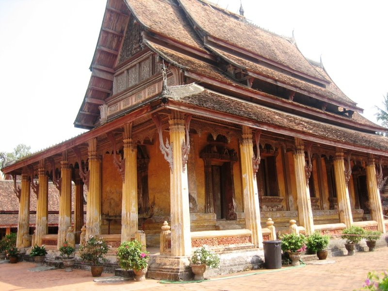 Wat Sisaket built in 1819 turned into a museum