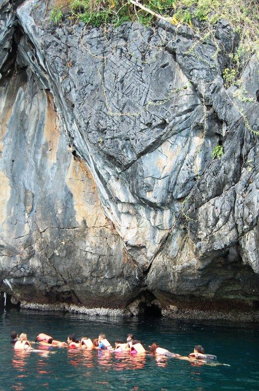 Trang's famous Emerald Cave