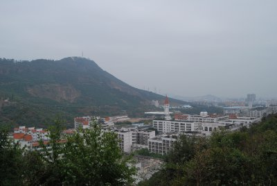 View from the hills