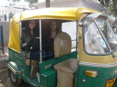 Rickshaw Riding