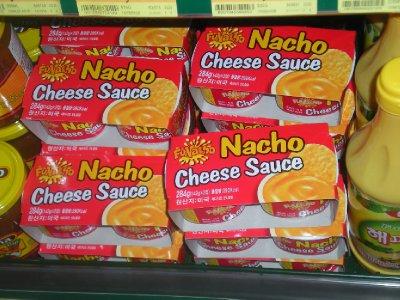 Nacho cheese sauce! yummmmm