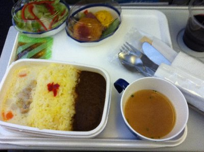 My plane lunch