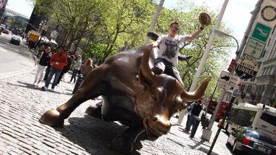 Riding the bull - yes!