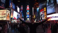 Me at Times Square New York City!