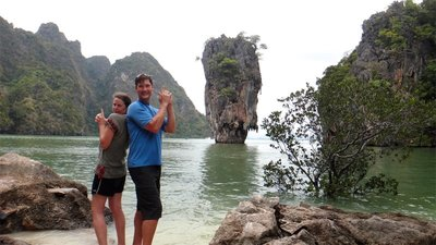 Anne Noah James Bond Island
