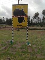 Standing on the equator GPS actually said 0.0 degrees