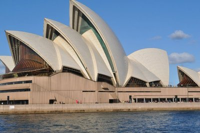 The famous Sydney Opera House