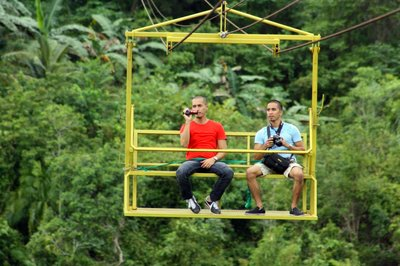 Loboc  Ecotourism Adventure Park - Zipline and cable car