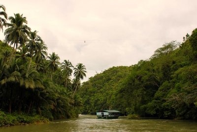 Floating Restaurant - Loboc River Bohol