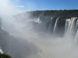 Iguazu falls La garganta del diablo