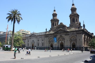 Our little bit of sightseeing in Santiago