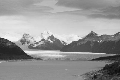 First glimpse of Perito Moreno