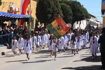 Parade to celebrate the 400 year anniversary of the Silver mines.