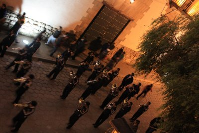 Music for the town's fiesta