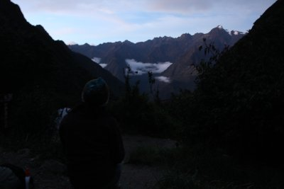 It was cool (both figuratively and literally!) to spend the night above the clouds
