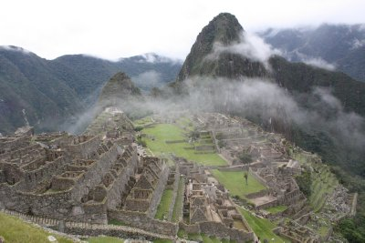 If you hadn't guessed...this is Macchu Picchu!