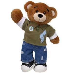 Agape the MCC Traveling Bear