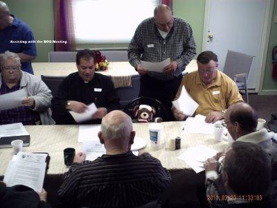 Observing Board Meeting at Redeemer MCC