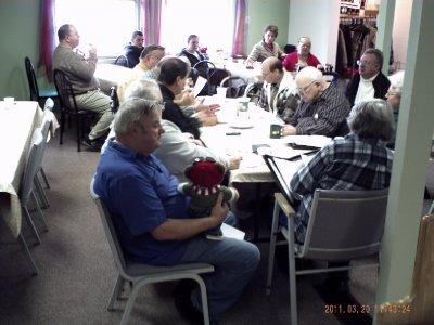Agape Observes Board Meeting at Redeemer MCC