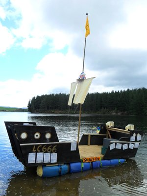 Kiwiburn Pirate Ship