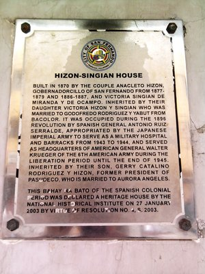hizon-singian mark