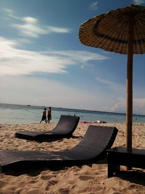 under the Boracay sun