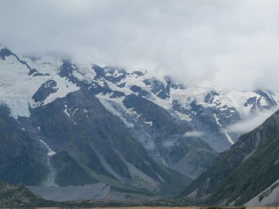 Mount Cook- highest mountain in NZ